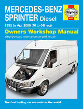 Mercedes Sprinter Van 2.2 & 2.9 TD CDI Diesel 1995-2006 Haynes Manual 4902