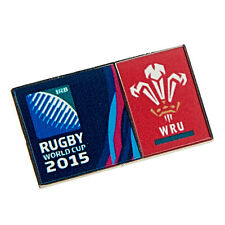 Rugby World Cup 2015 Wales RFU Rectangular Event Pin