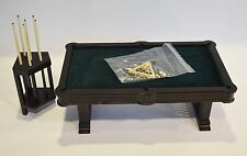 1:6 Scale Furniture for Fashion Dolls  Action Figures 23061 DMG Pool Room Set