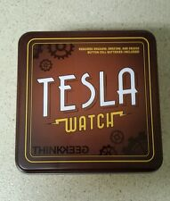 NEW Tesla Steampunk Style Retro Chronometer Watch With Collectors Tin