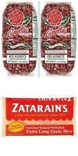 2 LBS CAMELLIA RED BEANS + FREE POUND ZATARAIN'S RICE plus New Orleans recipe