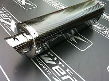 Ducati 750 SS ie Injection 99-02 Paire de Carbone Tri Pots D'échappement Oval