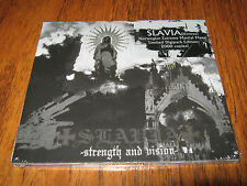 "SLAVIA ""Strength and Vision"" DIGI CD ved buens ende tsjuder taake"