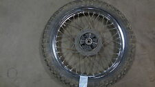 1975 Yamaha 125 Twin 125cc Y306 rear wheel rim 18""