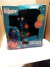 New Disney Finding Dory Light & Sound Coin Bank BRAND NEW