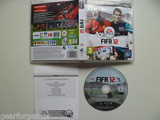 SONY PS3 PLAYSTATION 3 GAME FIFA 12 FULLY TESTED