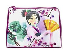 SOHO Disney Mulan Dare to Dream Round Top Large Cosmetic Bag