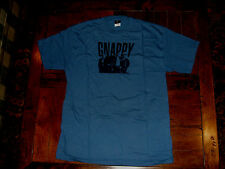 Gnappy Tour Concert T-Shirt Large Slate Blue Jam Groove Jazz Band EXC