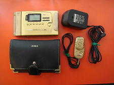 AIWA HS-EX3000 Cassette Player, GOLD! With accessories Working! Walkman sony wm