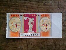 BILLET DE LOTERIE NATIONALE 1939 sixième tranche (1500000 billets) moti