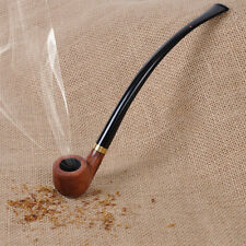 New Popular Classic Vintage Brown Rosewood Wooden Reading Smoking Tobacco Pipe