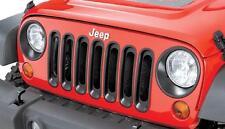 Kühlergrilleinsatz schwarz Kunststoff Jeep Wrangler JK 07- Rugged Ridge 11306.30