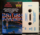 THE BRITISH INVASION CASSETTE TAPE VARIOUS ARTISTS FREE POST WITHIN AUSTRALIA