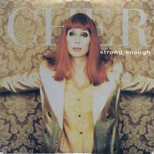 CD 2 TITRES--CHER--STRONG ENOUGH--1998
