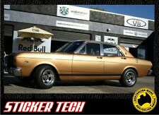 1967 XR GT V8 FORD FALCON SIDE AND BOOT BLACK STRIPE KIT STICKER DECAL