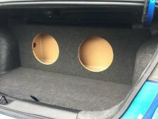 "For a 2013+ Dodge Dart - Custom Sub Box Subwoofer Speaker Enclosure - (2 12"")"