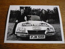 CITROEN CX WITH PADDY HOPKIRK , LONDON SYDNEY RALLY PRESS PHOTO