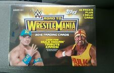 2015 Topps WWE Road to Wrestlemania Relic Blaster (1 BOX) New
