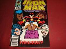 INVINCIBLE IRON MAN Vol. 1 #248  Marvel Comics 1989 VFN