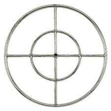 "American Fireglass 24"" Stainless Steel Fire Pit Ring Burner SS-FR-24"