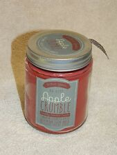 DW Home Candle APPLE CRUMBLE 1 Wick Baked Goods Collection  NEW