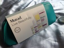 Murad Live Beautifully 4 Piece Set - Renewing Eye Cream,AHA cleanser..etc