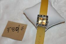 BEAUTIFUL Andre francois Womans watch analog Crystal  Bezel F80/F