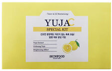 [SKINFOOD] YUJA Special Kit(4items) - Korea Cosmetic
