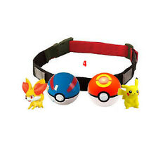 Pokemon Clip N Carry Kids Adjustable Poke Ball Belt Xmas Gift Pretend Play Game