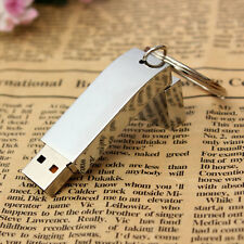 32GB Metal Thumb USB 2.0 Flash Drive Memory Stick Storage U Disk Key Ring