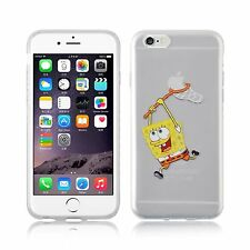 Apple iPhone gel transparent 6s 6 Spongebob Squarepants CASE + protecteur d'écran