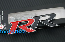Metal Front Grill Badge Emblem DECAL tuning RR TYPE R Tuning tG8