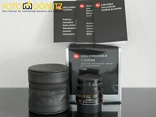 Leica M 50mm 2.0 Summicron 6bit schwarz 11826 vom 08.12.14