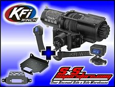 4500 lb KFI Stealth Winch Mount Combo Polaris RZR 2014-2016 XP1000 1000 XP