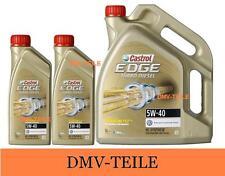 Castrol EDGE TITANIUM FST 5W-40 Turbo Diesel 5+2=7 Liter ACEA C3 BMW Longlife 04
