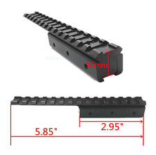 Mosin Nagant M91/30 Dovetail to Picatinny Weaver Rail Adapter Scope Mount Long