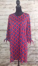 Women's Anderson Shift Dress Red/ Navy NWT Mud Pie Size Large