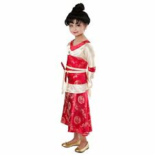 Girls KIMONO PRINCESS PARADISE Costume Dragon Dress + Obi Childs Large XL 12