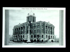 c.1940 Cooke County Court House Gainesville TX post card