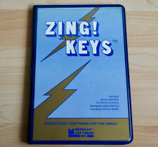 ZING! KEYS von Meridian Software, Productivity Software for the AMIGA
