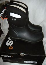 BOGS ULTRA HIGH WATERPROOF MEN'S RAIN SNOW BOOTS BLACK  NEW