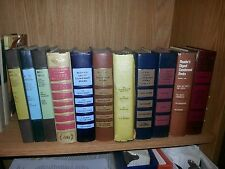 Lot of 11 Reader's Digest Condensed Books 1955 Selections