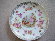 German Dresden-Meissen-Prussia large porcelain charger-plate,signed Boucher..