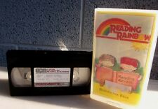 READING RAINBOW Berlioz Bear VHS Harlem Choir musical instruments Jan Brett