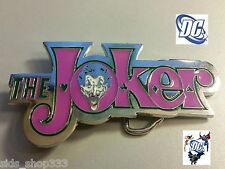 New Dc Comics the Joker Batman Belt Buckle cosplay Harley Quinn new design