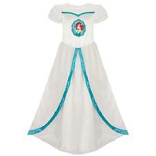 Deluxe ARIEL~Wedding Dress~Night Gown~2/3 (XXS)~Little Mermaid~NWT~Disney Store
