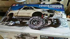 Tamiya UK STOCK RC Toyota Tundra Highlift - 4x4-3SPD Sv 1/10