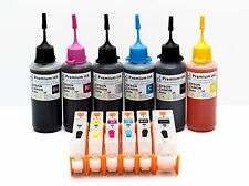 Refillable Ink Cartridge Kits For Canon Pixma MG7751 MG7750 printer NON-OEM