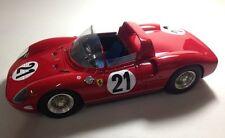 V12Sportmodels S36 - Ferrari 250P Vainqueur 24H Le mans 1963 N°21 Bandini 1/18