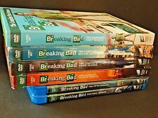 Breaking Bad Complete Series 6 Seasons 1 2 3 4 5 6 DVD Blu-Ray Bryan Cranston